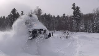 9. Yamaha VK540 tearing up the powder!  PowerModz!
