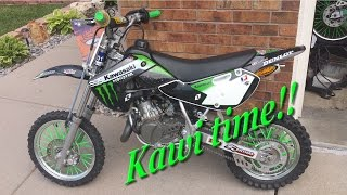 8. Kawasaki KX65 Ride Time!!