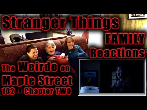 Stranger Things | FAMILY Reactions | The Weirdo on Maple Street | Chapter TWO | 102