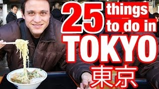 Tokyo Japan  City pictures : 25 Things To Do in Tokyo, Japan (Watch This Before You Go)