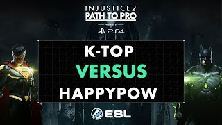 As part of the Injustice Championship Series, the Path to Pro is set over twelve weeks, and will enable players of all levels to compete online in Europe's official Injustice 2 tournament. Each week players will compete online using ESL's native Playstation tournament integration for prize money and a coveted spot in the Path to Pro online European Grand Finals.The Path to Pro will feature a broadcast of the top 8 players once per month.Follow all the action at esl.pm/inj2pathtopro