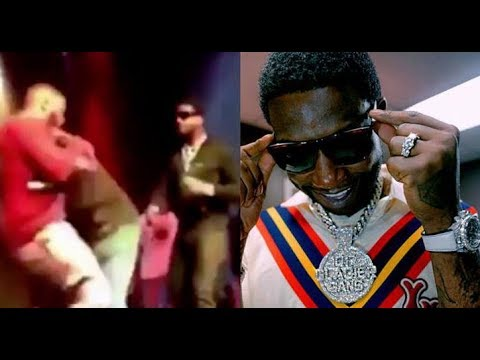 Goon Run Down On Gucci Mane Try To Snatch His Chain & Get Delt With..DA PRODUCT DVD