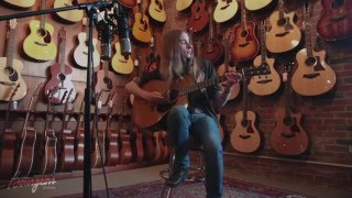 Bourgeois Guitars Presents Sawyer with Custom-made Guitar for 17th Birthday