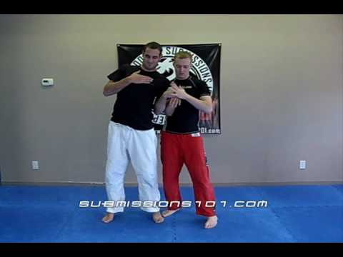 Gooseneck - See our other video: http://www.youtube.com/watch?v=ZzMQI5QP8Qs on resisting opponent. A standard wrist lock escort technique. This has many 'names' from goo...