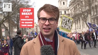 Brexit: what is the point of the people's vote march?