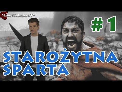 Matura To Bzdura - Starożytna Sparta odc. 1 Historia i Ciekawostki Edukacji