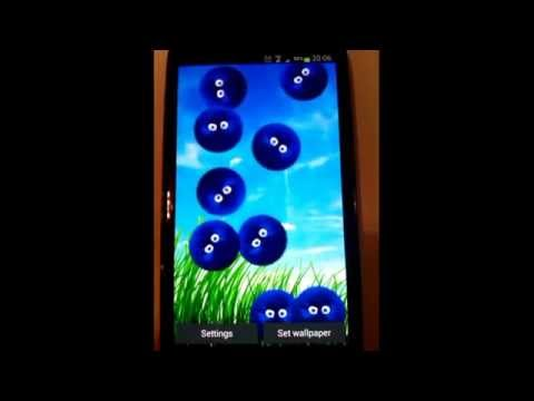 Video of FurBalls Live Wallpaper