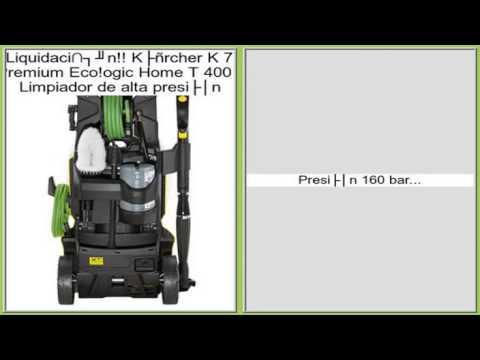 Kärcher K 7 Premium Eco!ogic Home T 400 - Limpiador de alta presión opiniones
