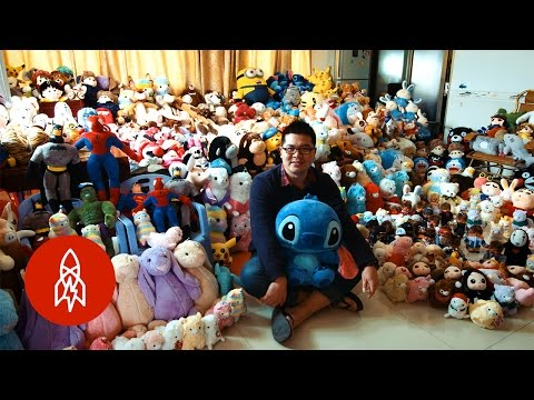 Chen Zhitong Won 15 000 Stuffed Animals From Claw Machines Last