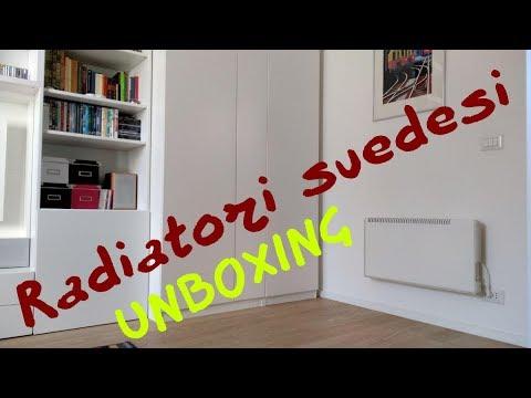 Radiatori Svedesi - La mia prova - Parte 1°