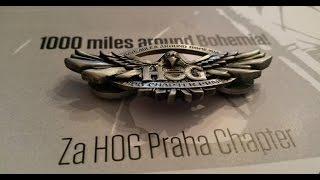 1000 mil HOG Praha Chapter 2016