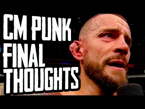 CM PUNK'S FIGHT: FINAL THOUGHTS (Going In Raw Special Segment)