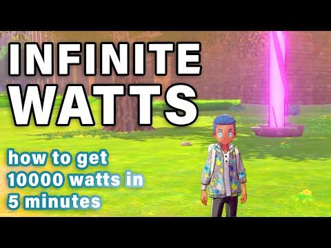 How to get INFINITE WATTS   Reset Every DEN ► Pokemon Sword & Shield