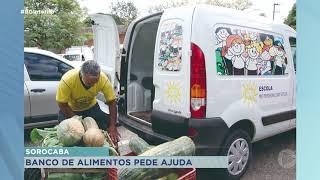 Trabalho do banco de alimentos de Sorocaba permanece na pandemia