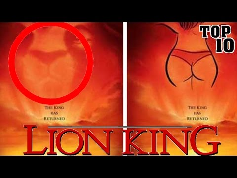 Top 10 Subliminal Messages In Disney Movies - Part 2