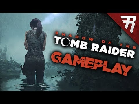 NEW GAMEPLAY: Shadow of the Tomb Raider (Hands On)