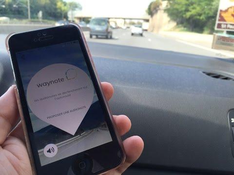 Waynote, le guide touristique qui change l'autoroute