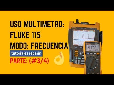 FLUKE (#3/4) AMPERIO FRECUENCIA, TESTER MULTIMETRO, POLIMETRO AMPERIMETRO