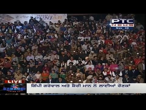 Gippy Grewal's Performance at Pearls 4th World Cup Kabaddi Punjab 2013