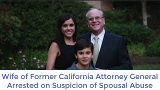 Wife of Former California Attorney General Arrested on Suspicion of Spousal Abuse TWAIN HARTE -- Nadia Davis Lockyer, wife...