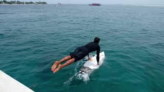Free Surfing AT Beautiful Maldives Islands (With Tel-Aviv, Topsea-Hilton Locals & Water Man Uri Richter ) Video&Edit- Talented...