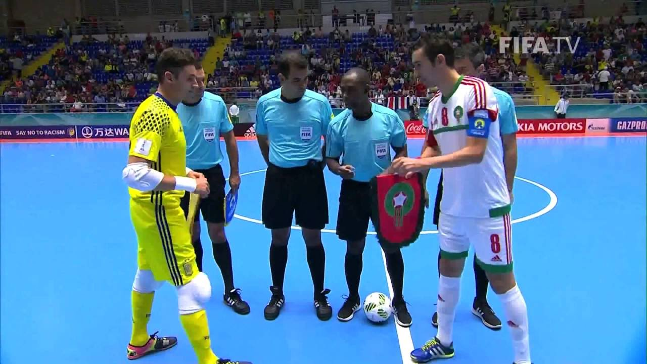 Match 36: Spain v Morocco – FIFA Futsal World Cup 2016
