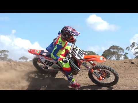 FIRST FOOTAGE OF KTM'S NEW SUPERCROSS SUB KYLE PETERS