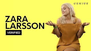 "Video Zara Larsson ""Lush Life"" Official Lyrics & Meaning 