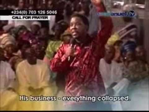 TB Joshua - Money Isn't Everything...