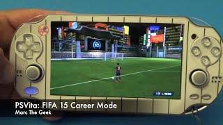 Video PSVita: FIFA 15 Career Mode Hands On MP3, 3GP, MP4, WEBM, AVI, FLV Desember 2017