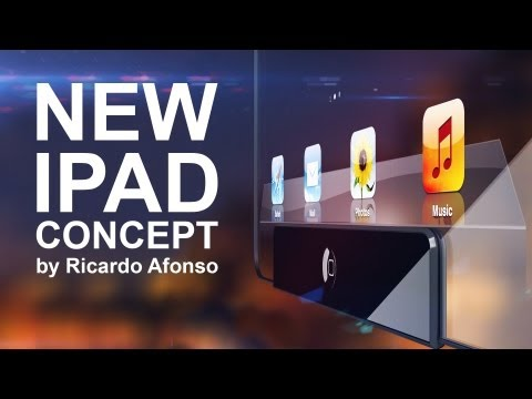 iPad Concept by Richard Afonso
