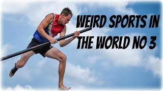 Watch a compilation of the weirdest and funniest sports in the world! Strange and unusual is the best way to describe this sports. Filled with funny moments....