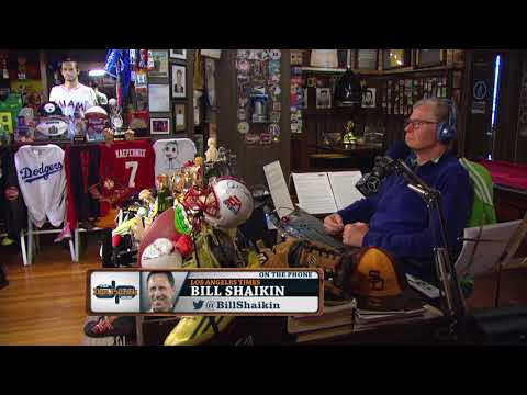 "LA Times Bill Shaikin: ""Kenley Jansen Is The Key To Dodgers""   The Dan Patrick Show   8/14/18"