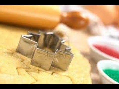 biscottini di pasta frolla colorati