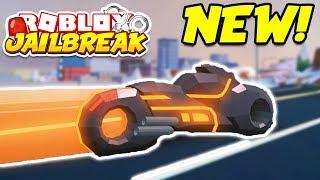 Roblox Jailbreak NEW TRON VOLT BIKE!! NEW 1 MILLION DOLLAR CAR!! (Roblox Jailbreak Winter Update)