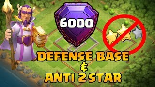 Video Clash Of Clans | BEST TH11 DEFENSE BASE 2017 (6000 trophy) | ANTI 1 STAR BASE & ANTI 2 STAR BASE MP3, 3GP, MP4, WEBM, AVI, FLV Agustus 2017