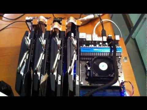 Radeon 5850×4 bitcoin miner
