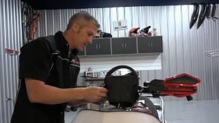 5. Polaris IQR 600 gets some PowerMadd Handguards, Riser Bar Bag and Grab Bar