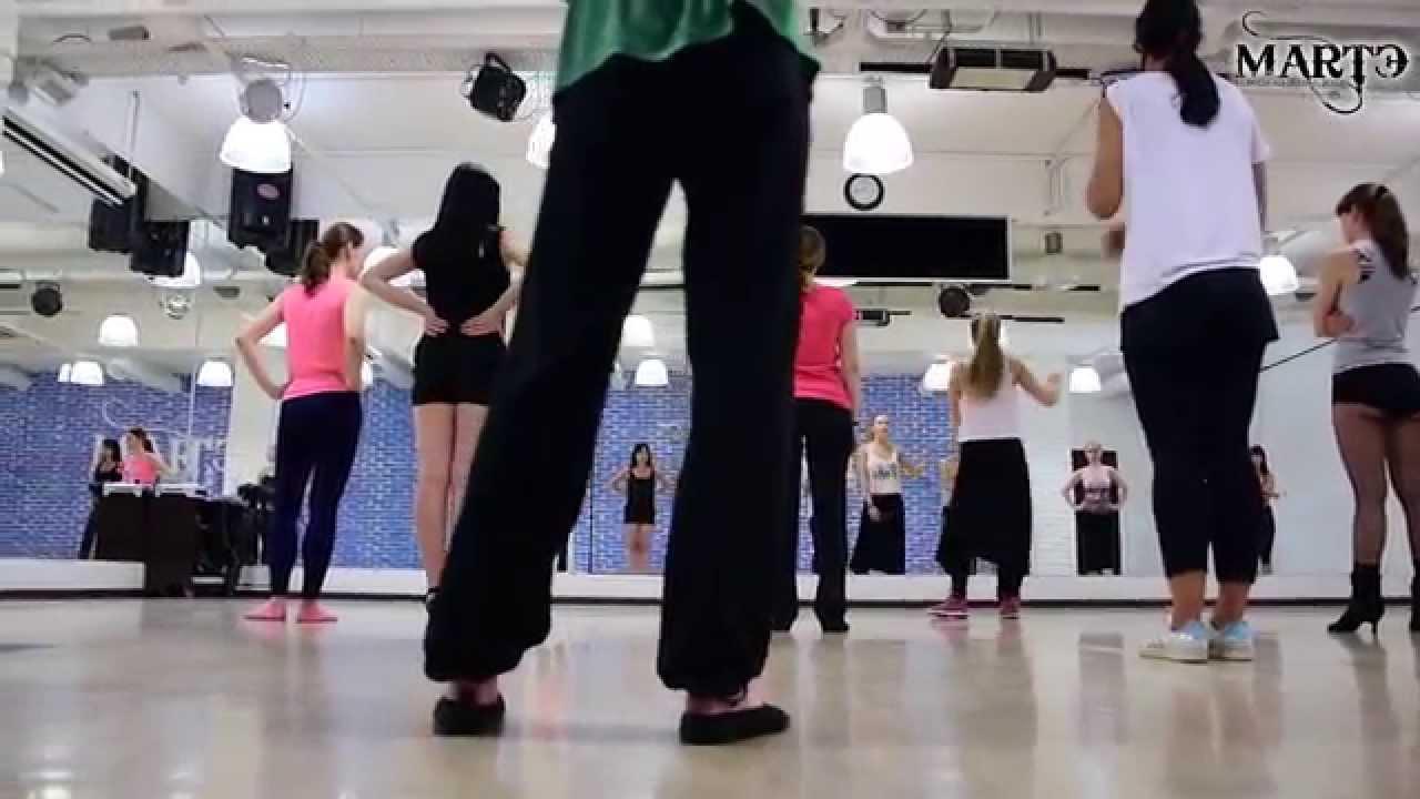Смотреть онлайн уроки танцев: День хай-хилс, вог, бути и ледис дэнс в МАРТЭ