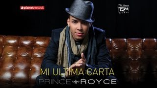 PRINCE ROYCE - Mi Ultima Carta (Official Web Clip) - YouTube