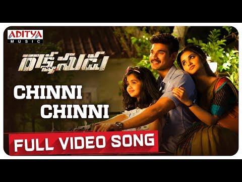 Chinni Chinni Full Video Song || Rakshasudu Video Songs || Bellamkonda Sreenivas, Anupama || Ghibran