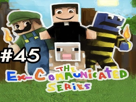 Minecraft: The Ex-Communicated Series w/Nova, SSoHPKC & Slyfox Ep.45 - Rebooted For The 90th Time Video
