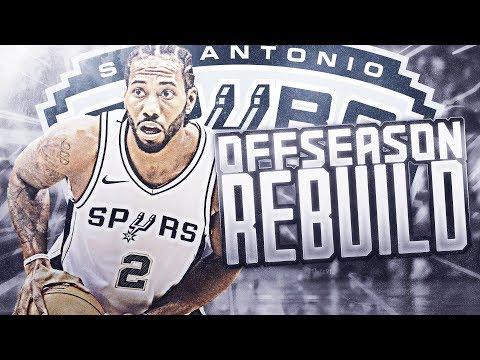 SUPER SQUAD! SPURS OFFSEASON REBUILD! NBA 2K19 (видео)