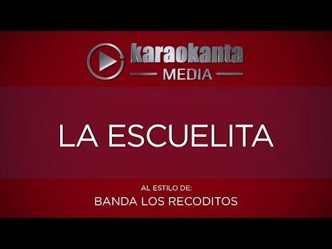 La escuelita Banda Los Recoditos
