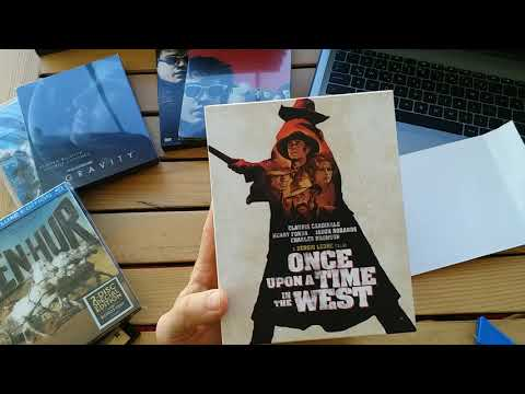 ONCE UPON A TIME IN THE WEST ( Steelbook )