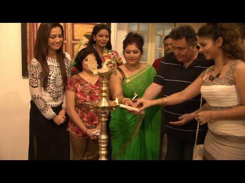 Rishi Kapoor Inaugurates Seema Chaudhary & Nitin Chaudhary's Art Exhibition