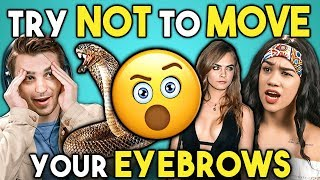 Video Try Not To Move Your Eyebrows Challenge MP3, 3GP, MP4, WEBM, AVI, FLV Agustus 2019