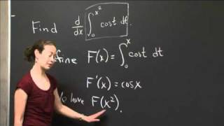 Second Fundamental Theorem And Chain Rule | MIT 18.01SC Single Variable Calculus, Fall 2010