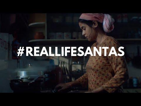 #RealLifeSantas