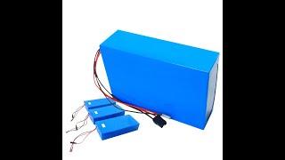 Amorge 48v 15ah 25ah 30ah 35ah 40ah 45ah 50ah lithium battery pack for ebike youtube video